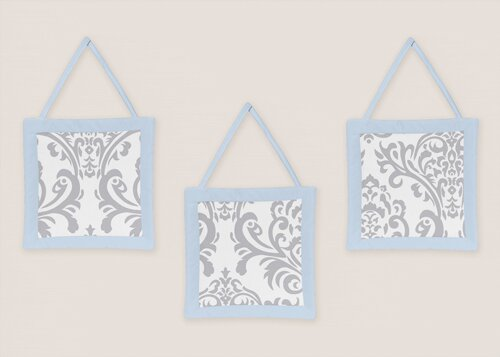3 Piece Avery Wall Hanging Set by Sweet Jojo Designs