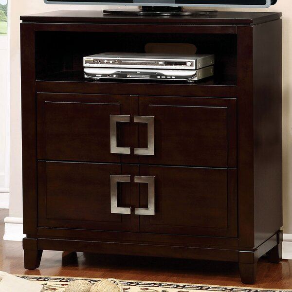 Review Everson 2 Drawer Media Chest
