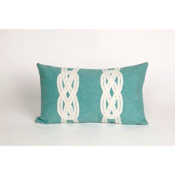 Clarkstown Double Knot Lumbar Pillow by Highland Dunes