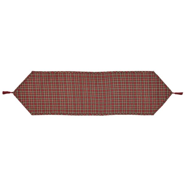 Tartan Holiday Table Runner by The Holiday Aisle