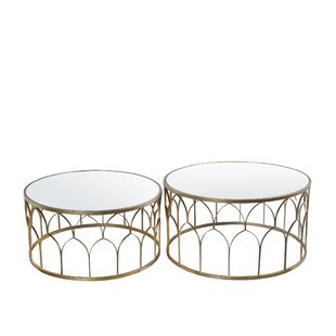 Affordable Askew 2 Pieces Coffee Table Set ByMercer41