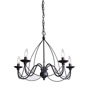 Look for Randon 5-Light Chandelier By Gracie Oaks