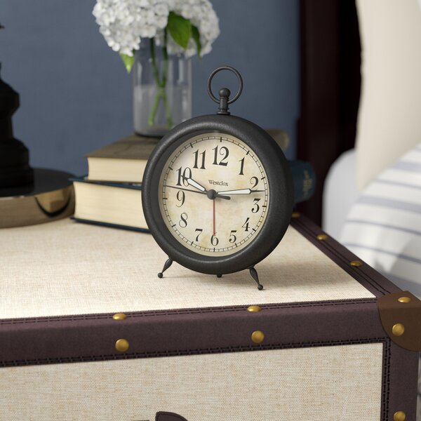 Gouveia Ring Alarm Clock by Three Posts