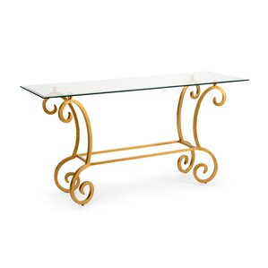 Amber Console Table by Che..