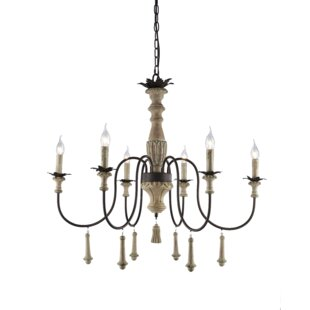 Affordable Bertrand 6-Light Chandelier By Ophelia & Co.