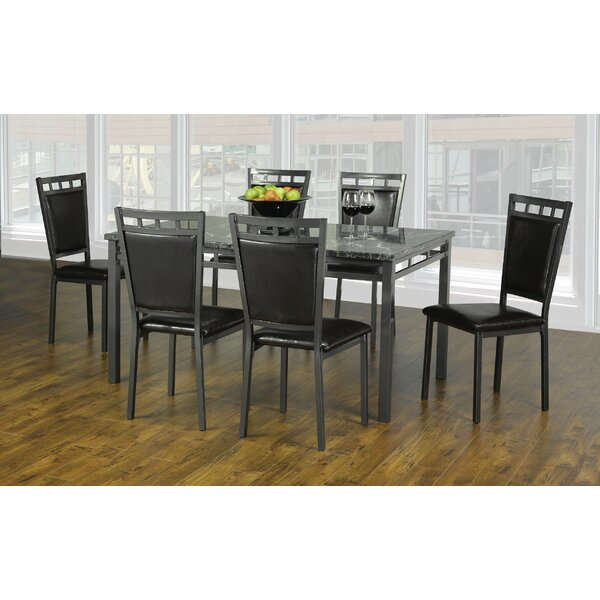 Coeburn 7 Piece Dining Set By Winston Porter