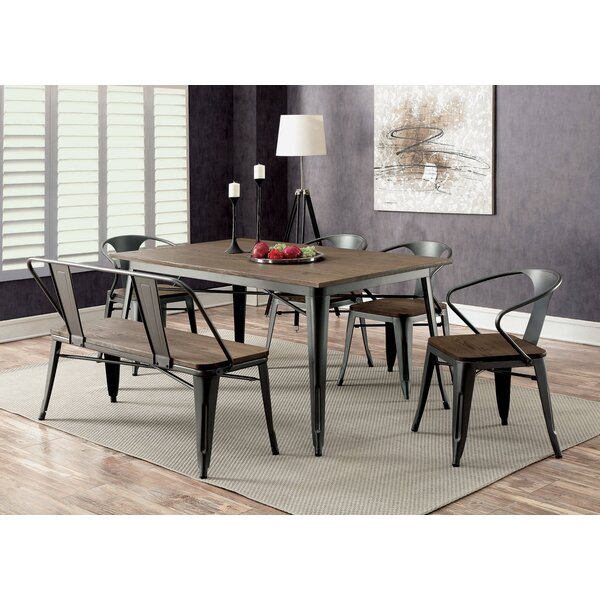 Sade 6 Piece Dining Set By Williston Forge