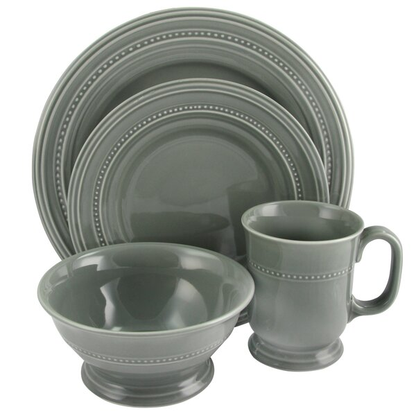 Shery 16 Piece Dinnerware Set, Service for 4 by Gracie Oaks