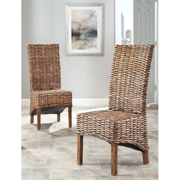 Feldman Solid Wood Dining Chair (Set of 2) by Bayou Breeze