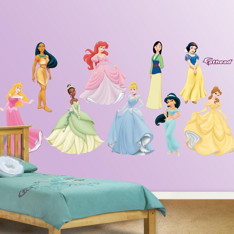 Fathead Disney Princess Wall Decal | Wayfair