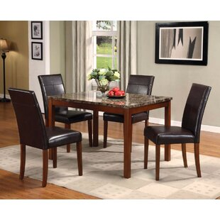 Oquinn 5 Piece Dining Set By Winston Porter