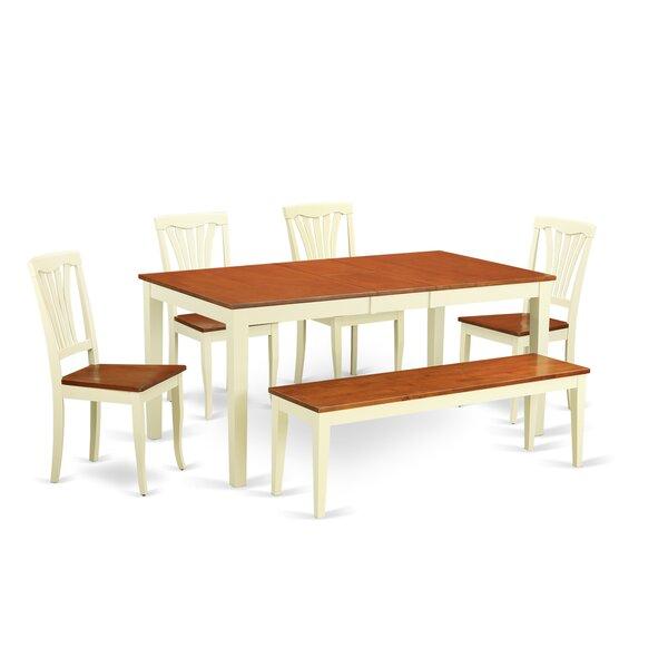 Soper 6 Piece Dining Set by Charlton Home Charlton Home