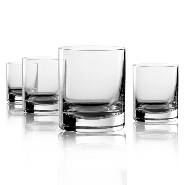 Veritas New York Bar Oversized DOF Glass (Set of 4) by Artland