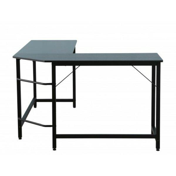 Doziers Glass L-Shaped Desk