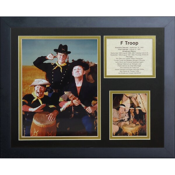 F-Troop Framed Photographic Print by Legends Never Die
