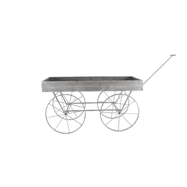 Wheelbarrow Planter by Cole & Grey