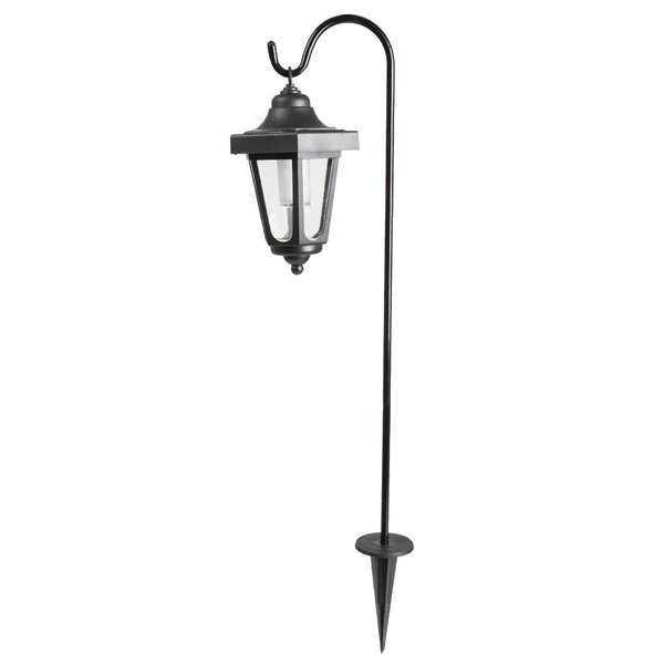 Solar Powered Coach LED 1-Light 26 Post Light (Set of 2) by Pure Garden