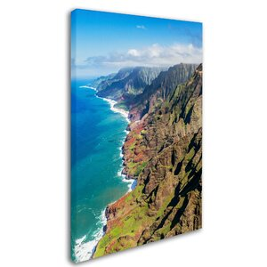 Napali Coast Kauai by Pierre Leclerc Photographic Print on Wrapped Canvas by Trademark Fine Art