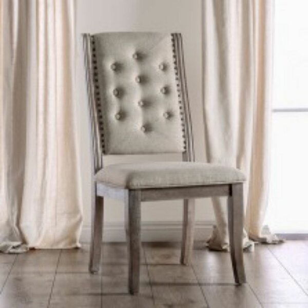 Yvaine Upholstered Dining Chair (Set of 2) by One Allium Way