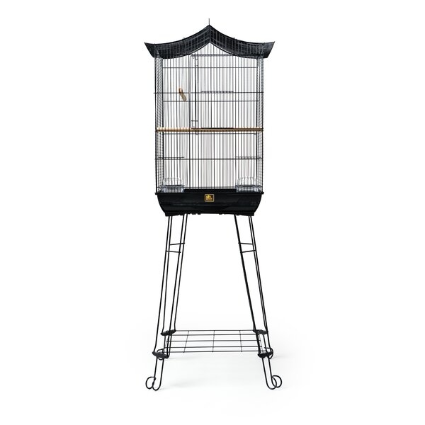 Crown Roof Parakeet Cage with Stand by Prevue Hend