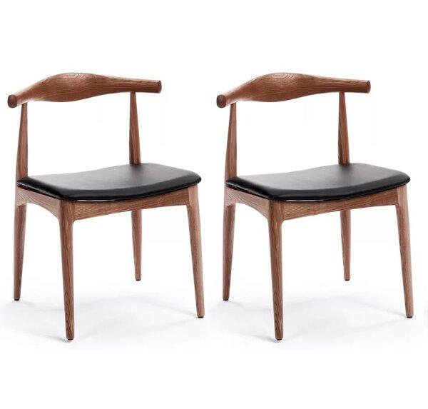 Chancy Solid Wood Dining Chair (Set of 2) by Corrigan Studio Corrigan Studio