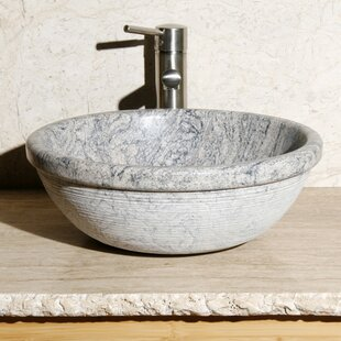 Read Reviews Stone Circular Vessel Bathroom Sink By Allstone Group