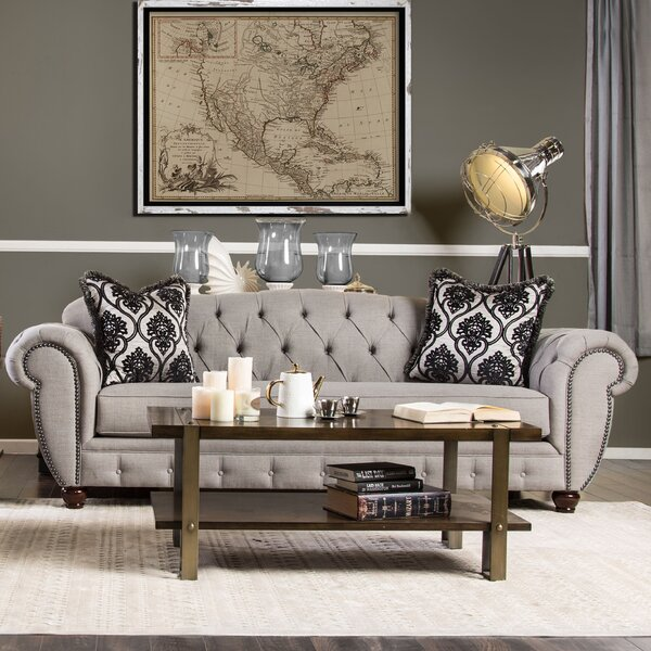 Suffield Chesterfield Sofa by Darby Home Co