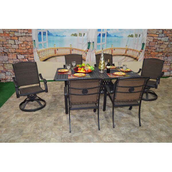 Adela 7 Piece Dining Set by Darby Home Co