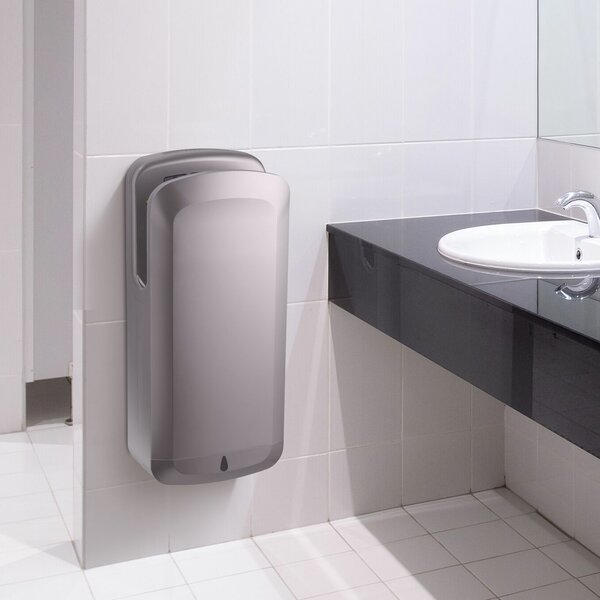 High Speed 120 Volt Hand Dryer in Gray by Alpine Industries