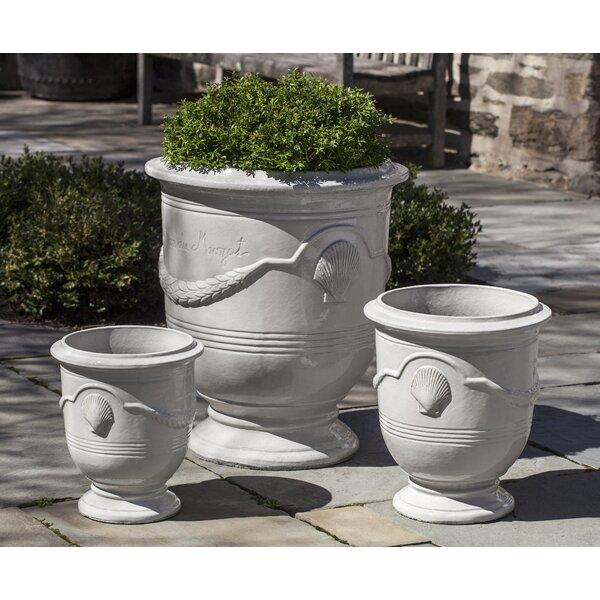 Zephyrine 3-Piece Terracotta Pot Planter Set by Rosecliff Heights