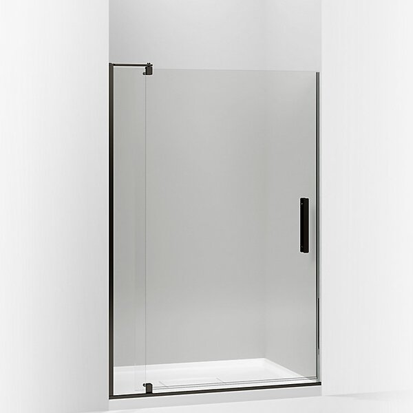 Revel 48'' x 74'' Pivot Shower Door with CleanCoat® Technology by Kohler