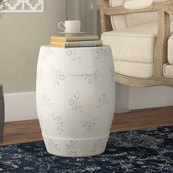 Aime Ceramic Garden Stool by Ophelia & Co.