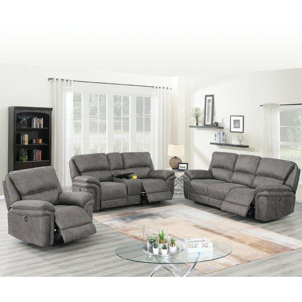 Caya Reclining Configurable Living Room Set By Red Barrel Studio
