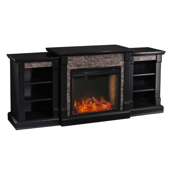 Gallatin Alexa Enabled Electric Fireplace By Ebern Designs