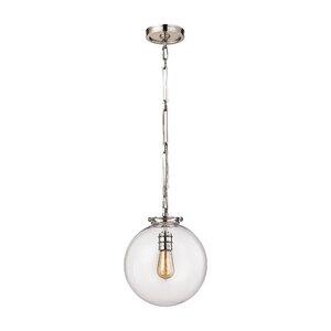 Manzo 1-Light Globe Pendant
