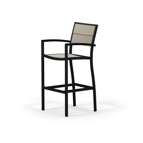 Metro 46 Patio Bar Arm Stool by POLYWOOD®