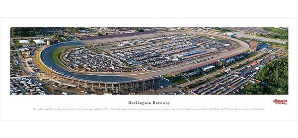 NASCAR Raceway Photographic Print by Blakeway Worldwide Panoramas, Inc