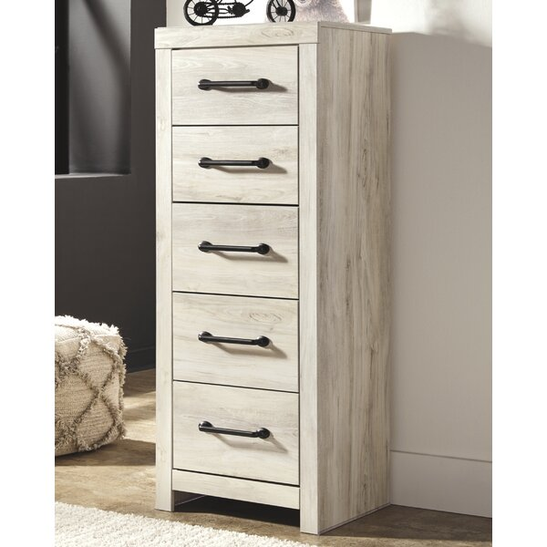Kennemer 5 Drawer Lingerie Chest by Gracie Oaks