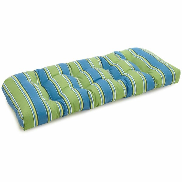 Soucy Indoor/Outdoor Bench Cushion by Bay Isle Home
