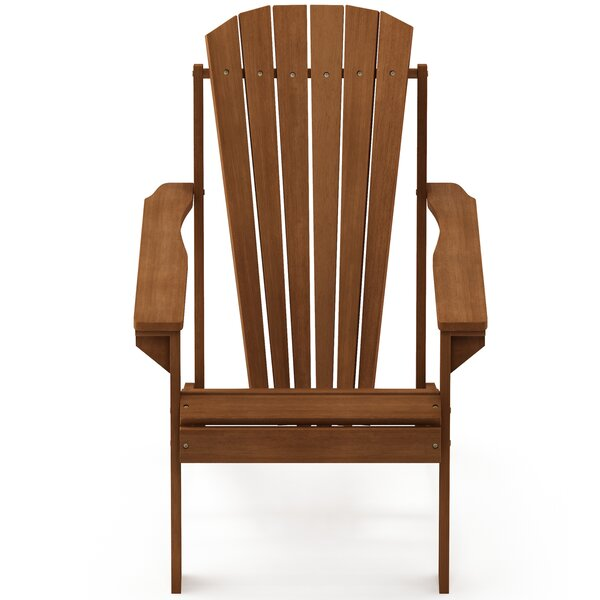 Brewster Wood Adirondack Chair by Millwood Pines Millwood Pines