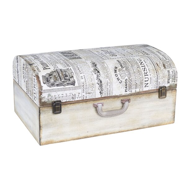 Newspaper Suitcase Trunk by Household Essentials