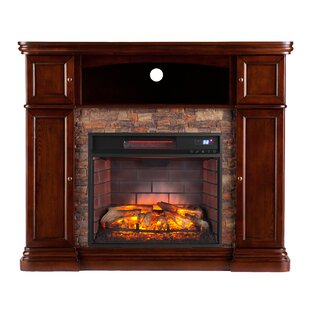 Patrizio Infrared Media Electric Fireplace by DarHome Co