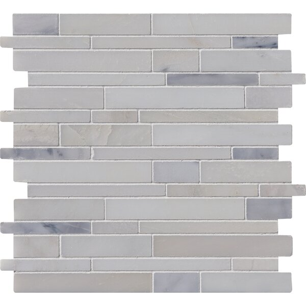 Greecian  12 X 12 Marble Mosaic Tile in Polished by MSI