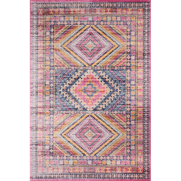 Ashburn Fuchsia Area Rug by Bungalow Rose
