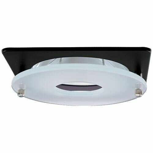 Suspended Frosted Glass 4 LED Recessed Trim by Elco Lighting