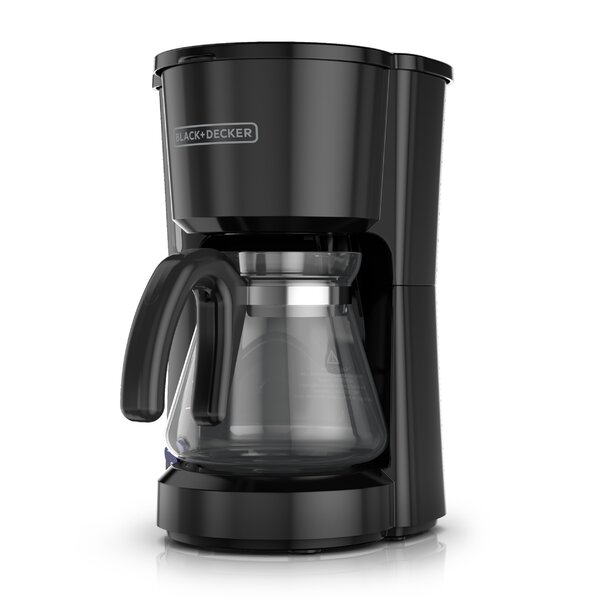 5-Cup 4-in-1 Station Stainless Steel Coffee Maker by Black + Decker