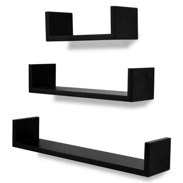 Dumas 3 Piece Floating Shelf Set by Ebern Designs