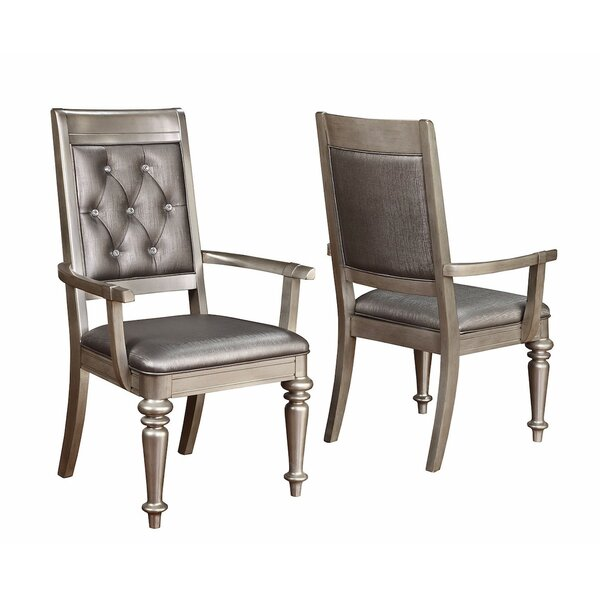 Victoria Arm Chair (Set of 2) by Infini Furnishings