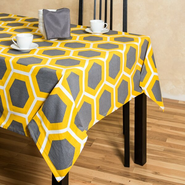 Brower Rectangular Cotton Tablecloth by Ivy Bronx