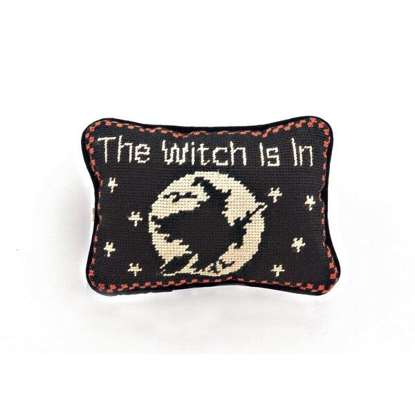 Halloween Needlepoint Lumbar Pillow by Peking Handicraft